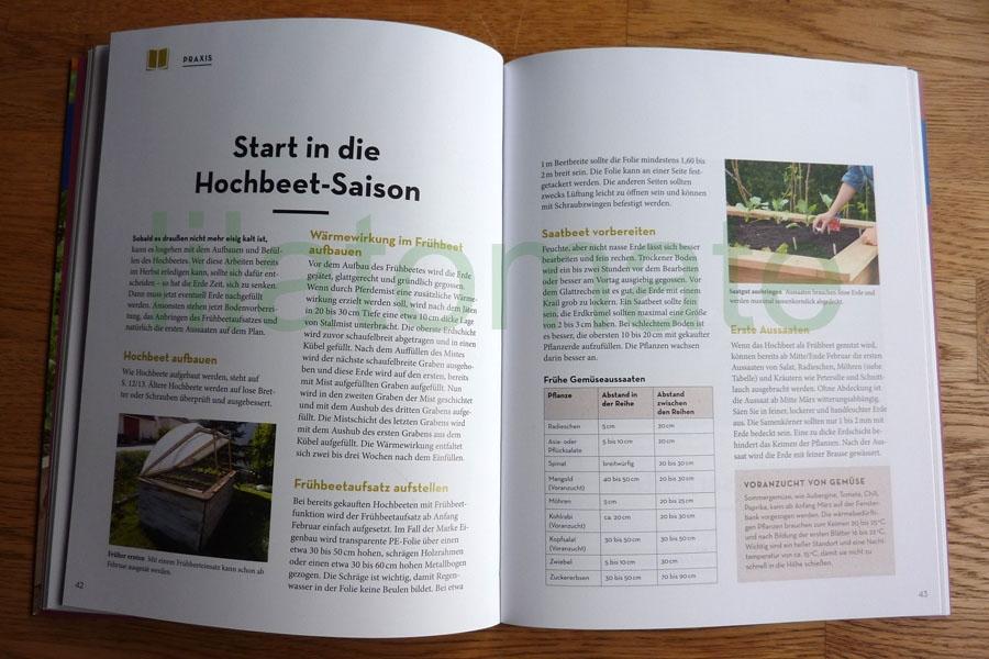 Buch Hochbeete rund ums Jahr