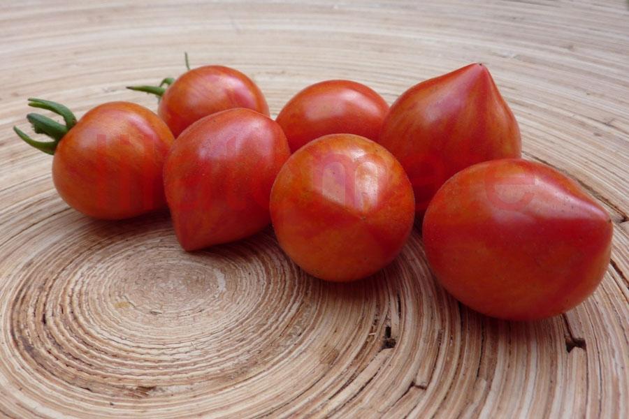 Tomate 'Taubenherz gestreift große Früchte' Saatgut