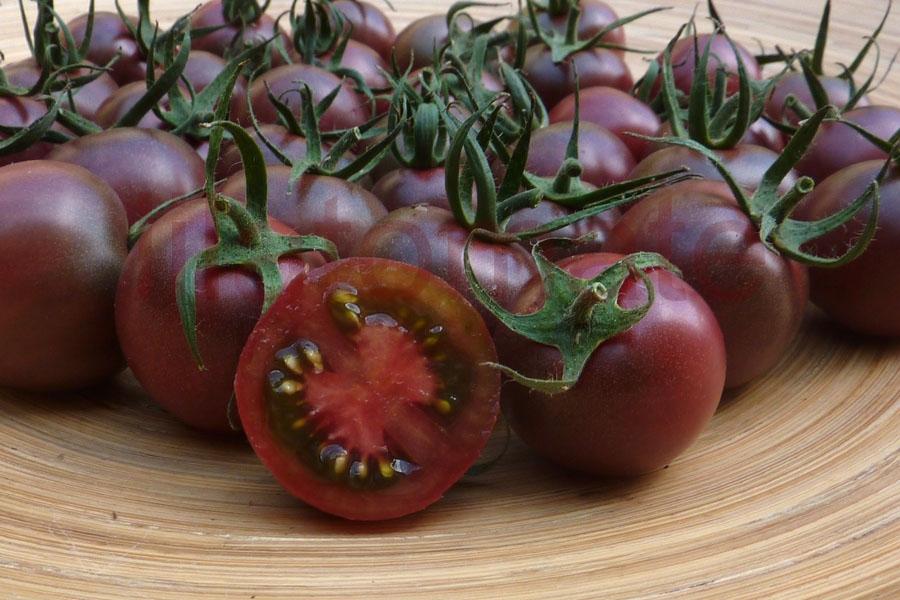 Tomate 'Cherry Black'