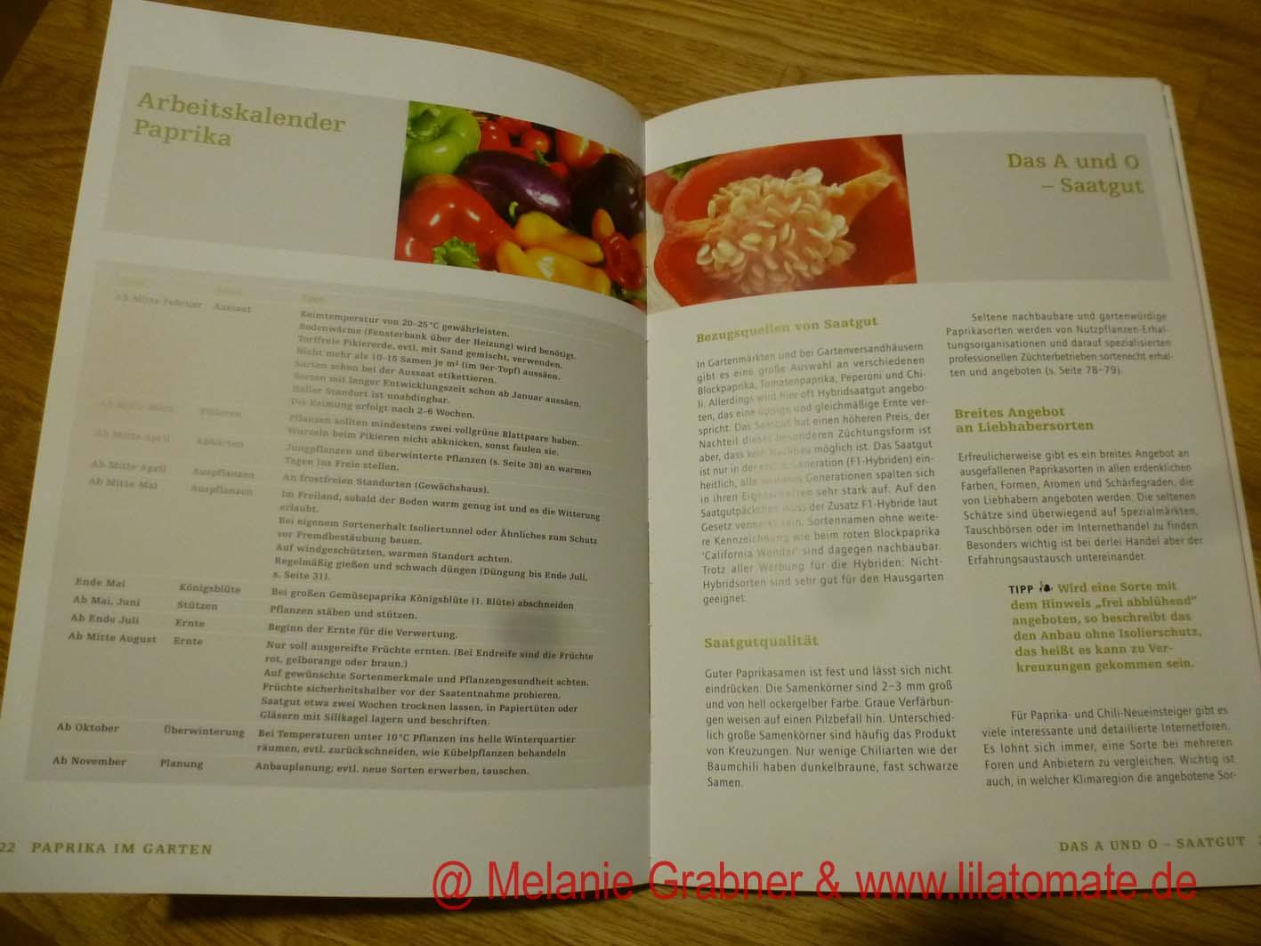 Buch Chili, Paprika und Peperonie für den Hausgarten